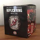 2000 New Jersey Devils Stanley Cup Champion Ring Replica SGA 2/1/20 NIB