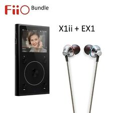 Fiio X1ii 2nd Gen de alta resolución (reproductor de música FLAC/WAV) + Paquete De Auriculares EX1