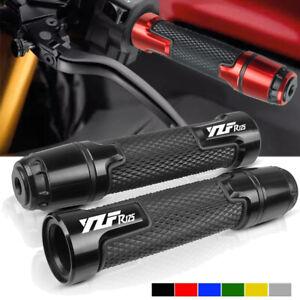 "For YAMAHA YZF R125 7/8"" 22mm CNC Aluminum Motocycle Handlebar Hand Grips hand"