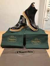 Church's Sasha Black Studded Leather Chelsea Boots! Size 39!New! Only £299.90!