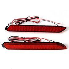 2x Car LED Rear Bumper Reflector Brake Light for Toyota Camry Reiz Matrix Venza