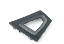 BMW F30 F31 M GENUINE Performance Center Console Trim for Gear Selector Carbon