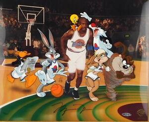 SPACE JAM Michael Jordan Signed Limited Edition Art Cel Warner Bros