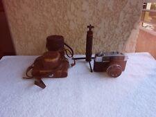 Lot  Appareil photo Yashica MII pour pièces + étui objectif/trépied de table