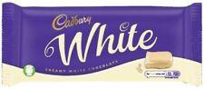 Cadbury creamy WHITE chocolate 180g bar British / UK recipe chocolate - NEW