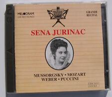 Sena Jurinac Grandi Recital 2 CD set Opera Mozart Weber Puccini Melodram Records