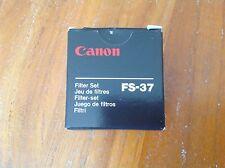 NEW⭐️CANON⭐️FS-37 Filter Set