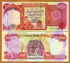 Iraq, 25000 (25,000) Dinars, 2003, P-96a, UNC