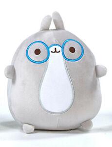 Molang Friends Grey Rabbit Soft Plush Bean Toy Kids Piu Piu Baigo Kawaii