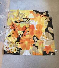 Damen Halstuch Codello Wunderschönes Tuch 88 x 88 cm 100 % Polyester gelb-bunt