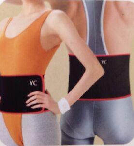 neoprene lower back waist support plane belt body lumber control sport