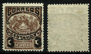 """CHILE, TELEGRAPH STAMP SURCHARGED """"CORREOS"""", YEAR 1904, MNH"""