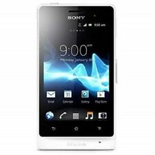 Brand New! Sony Xperia advance unlocked mobile phone Gsm St27A Pure White