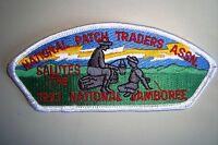OA NATL PATCH TRADERS ASSN COUNCIL SHOULDER PATCH CSP SALUTES 1993 JAMBOREE FLAP