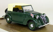 Brumm 1/43 Scale R86 Fiat 508C Cabriolet 1100 1937-39 Green Diecast Model Car