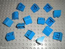 15 x LEGO blue Slope Brick 3039 / Set 565 367 3739 113 258 560 4997 733 4425 ...