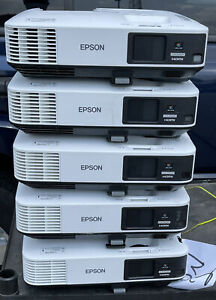 Lot Of(5) Epson PowerLite 2245U Wireless Full HD WUXGA 3LCD Projector - 4200 Lum