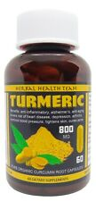 HIGH STRENGTH PURE INDIAN TURMERIC (CURCUMIN) CAPSULES - MADE AND SOLD IN THE UK
