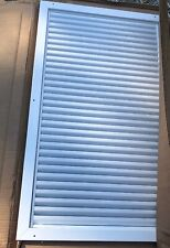 "Activar CPG White Powder Coated Air Louver Approx. 33.5""x19.5"" Rough Opening"