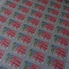 FEUILLE SHEET TIMBRE ETATS UNIS GUERRE MONDIALE N°2477 x50 1987 NEUF** LUXE MNH