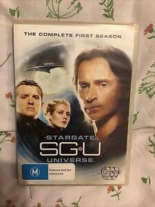 Stargate Universe : Season 1 (DVD, 2011, 5-Disc Set)