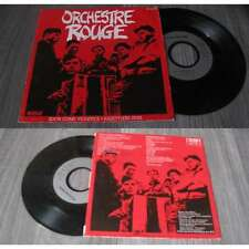 ORCHESTRE ROUGE - Soon Come Violence French PS 7' New Wave 82'
