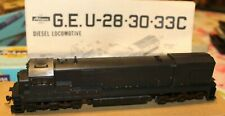 Athearn Blue Box HO  GE U30B - Undecorated Kit;  Powered