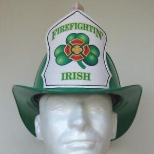 Texaco Helmet Irish Firefighter St Patricks' Day