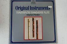 Original Instruments Traversflöte Stephen Preston Werke von la Barre (LP12)