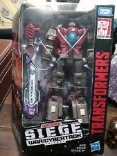 🆕 Transformers Siege War for Cybertron Deluxe Class Skytread Triple Changer