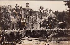 c1930s Convent Desierto de los Leones Real Photo Mexico Vintage Postcard