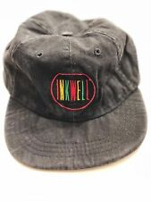 RARE Inkwell Movie Nike Cast & Crew Vintage Flex Fit Black Denim Hat HIP HOP RAP