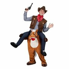 Carry Me Horse Funny Adults Mascot Fancy Dress Up Stag Party Costume