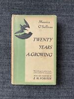 Twenty Years A-Growing Maurice O'Sullivan 1st American Edition
