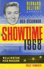 GREAT YARMOUTH WELLINGTON PIER 1968 'SHOWTIME' DES O'CONNOR PROGRAMME.