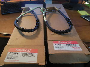 Pair Of Brake Hoses For Some 1993 - 1997 Chrysler, Dodge & Eagle Apps.