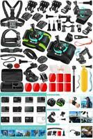 51 Piece GoPro HERO 7 6 5  Black Silver White Session Accessories Kit Camera Set