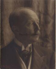 Portrait d'un homme par V. de Bont Paris Vintage Argentique 1920