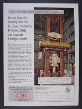 1956 Baldwin Universal Test Machine Lehigh Univ photo DuPont vintage print Ad