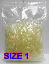 1000 Size 1 Empty Vegetarian Clear Capsules Pills Filling Powder Made From Rice