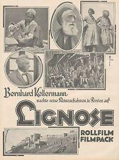 J1125 LIGNOSE Rollfilm & Filmpack - Pubblicità grande formato - 1927 Old advert