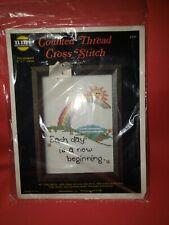 EACH DAY IS A NEW BEGINNING Cross Stitch Kit NEW NIP NOS Needle Magic Inc #701