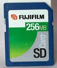Fuji 256MB SD memory card.