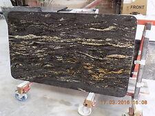 COSMIC BLACK GRANITE KITCHEN WORKTOP NEW QUARTZ BATHROOM STONE