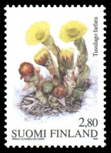 Finland 1998 Spring Flower - Coltsfoot, MNH / UNM
