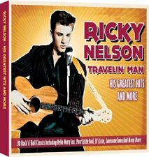 Ricky Nelson - Travelin Man - Greatest Hits And More - Ricky Nelson CD Y0VG The