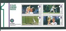 GB - MINIATURE SHEET - 2013 - ANDY MURRAY - WIMBLEDON TENNIS - UNM MINT
