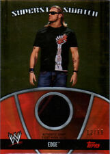 WWE Edge 2010 Topps GOLD Superstar Swatch Relic Card SN 12 of 99