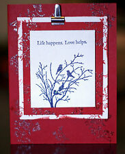 Hand Crafted Valentine Card Stampin Up