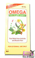 Omega Pain Killer Liniment Fast Relief from Arthritis Joint Muscle Pain Aches